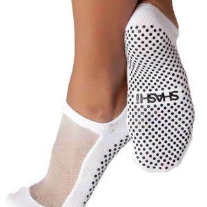 Shashi Mesh Classic Non-Slip Sock White Size S